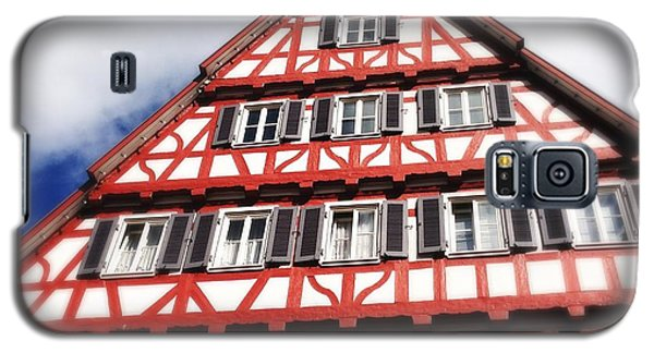 House Galaxy S5 Case - Half-timbered House 06 by Matthias Hauser