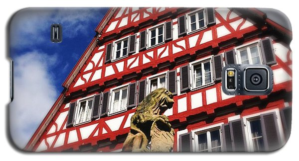 House Galaxy S5 Case - Half-timbered House 07 by Matthias Hauser