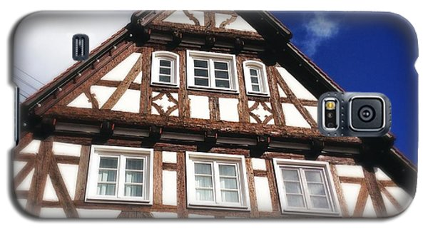 House Galaxy S5 Case - Half-timbered House 08 by Matthias Hauser