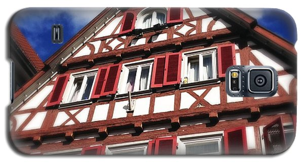 House Galaxy S5 Case - Half-timbered House 09 by Matthias Hauser