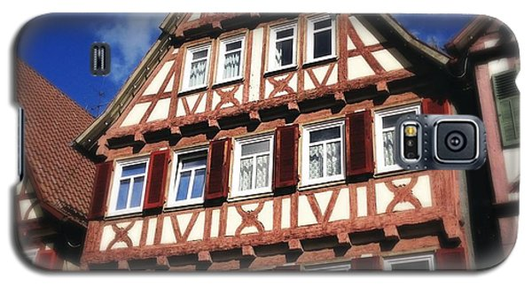 House Galaxy S5 Case - Half-timbered House 10 by Matthias Hauser