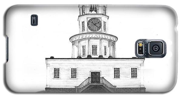 Halifax Town Clock Galaxy S5 Case by Patricia Hiltz