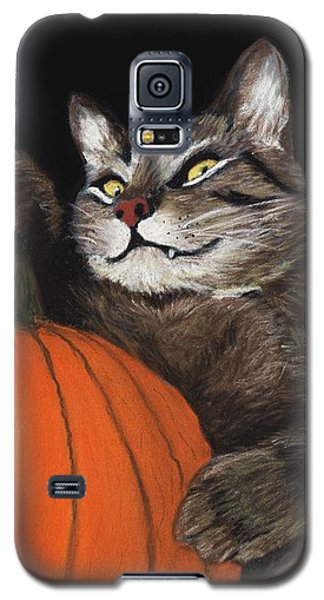 Halloween Cat Galaxy S5 Case
