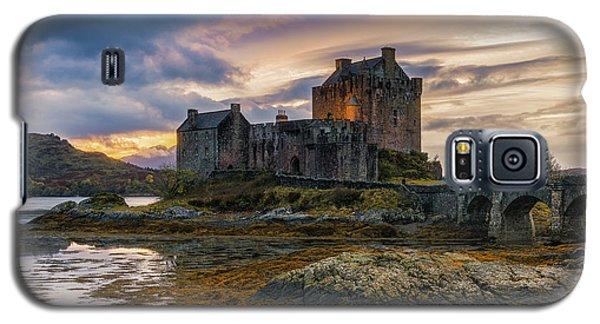 Castle Galaxy S5 Case - Halloween Colours by Adrian Popan