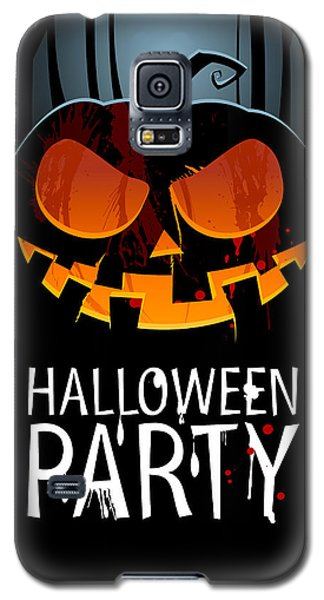 Galaxy S5 Case featuring the painting Halloween Party by Gianfranco Weiss