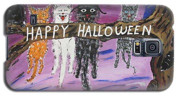 Halloween Scaredy Cats Galaxy S5 Case
