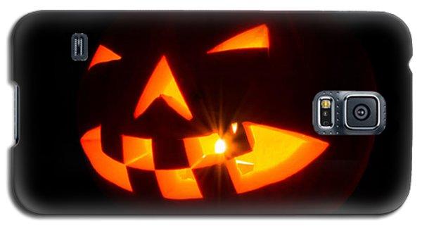 Halloween - Smiling Jack O' Lantern Galaxy S5 Case