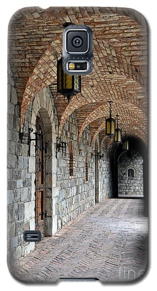 Galaxy S5 Case featuring the photograph Halls Of Castello Di Amorosa by Gina Savage