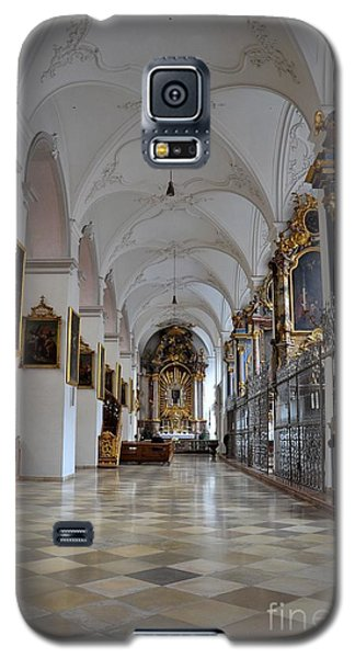 Galaxy S5 Case featuring the photograph Hallway Of A Church Munich Germany by Imran Ahmed