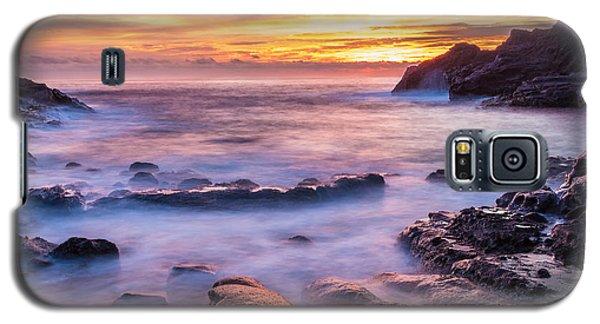 Halona Cove Sunrise 3 Galaxy S5 Case