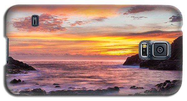 Halona Cove Sunrise 4 Galaxy S5 Case