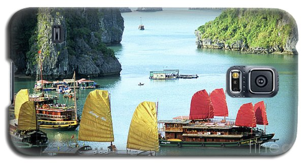 Halong Bay Sails 01 Galaxy S5 Case