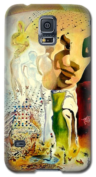 Galaxy S5 Case featuring the painting Halucinogenic Toreador By Salvador Dali by Henryk Gorecki