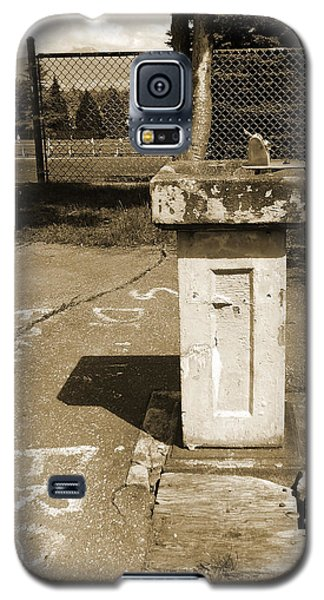 Galaxy S5 Case featuring the photograph Lonely Drink Fountain by Laurie Tsemak
