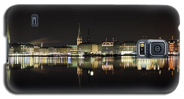 Hamburg Skyline At Night Galaxy S5 Case