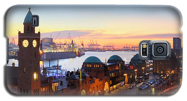 Hamburg St. Pauli Piers Galaxy S5 Case