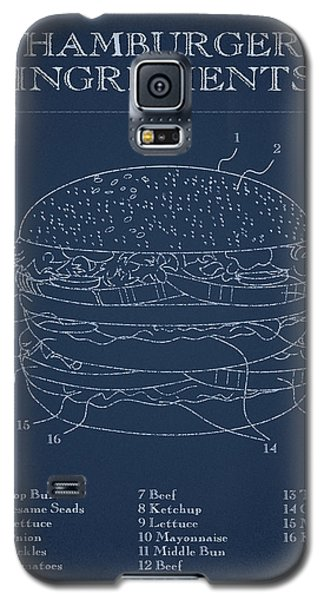 Hamburger Galaxy S5 Case by Aged Pixel