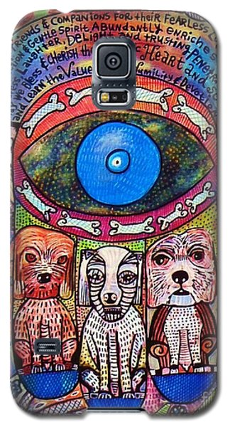 Hamsa Dog Blessing' Galaxy S5 Case