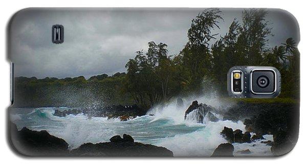 Hana Bay Summer Storm Galaxy S5 Case