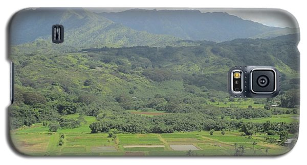 Galaxy S5 Case featuring the photograph Hanalei by Alohi Fujimoto