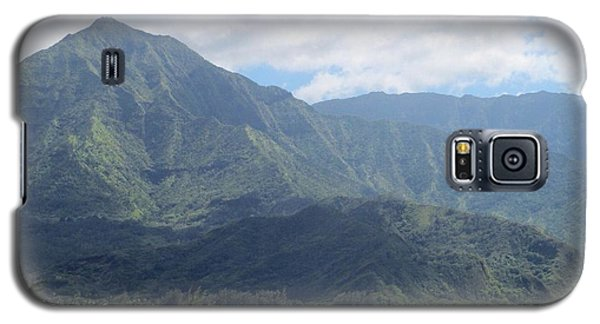 Galaxy S5 Case featuring the photograph Hanalei Bay by Alohi Fujimoto