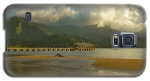 Hanalei Bay Reflections - Kauai Galaxy S5 Case by Stephen  Vecchiotti