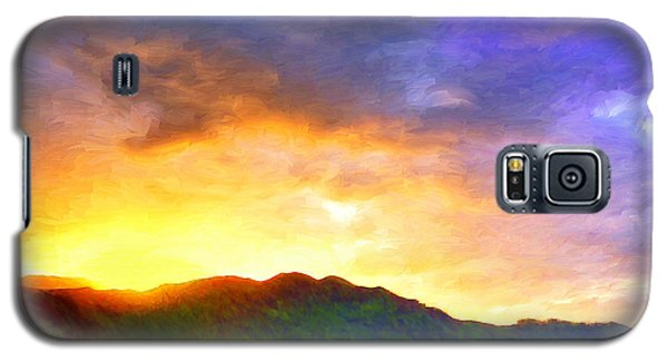 Hanalei Sunset Galaxy S5 Case by Dominic Piperata
