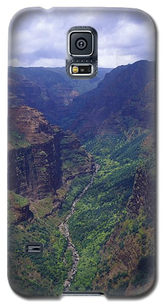 Hanapepe Valley I Galaxy S5 Case by Morris  McClung