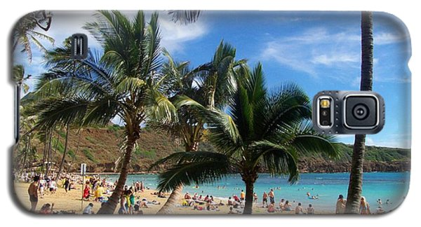Hanauma Bay Beach Galaxy S5 Case