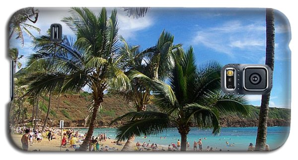 Hanauma Bay Beach Galaxy S5 Case