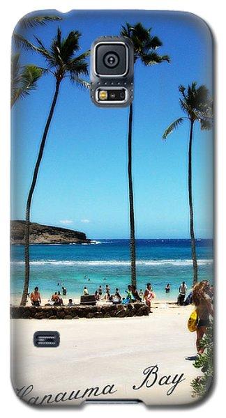 Galaxy S5 Case featuring the photograph Hanauma Bay by Mindy Bench