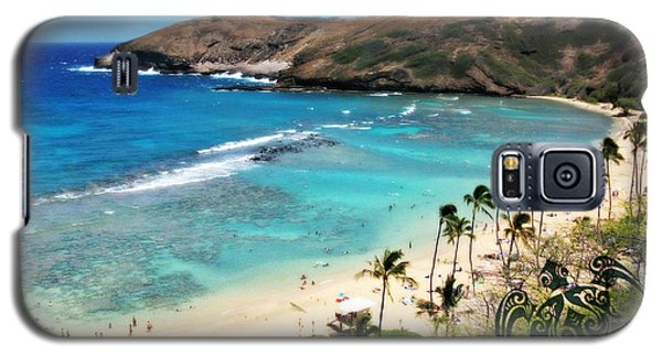 Hanauma Bay With Turtle Galaxy S5 Case by Mindy Bench