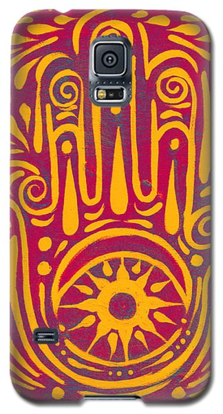 Hand Of Passion And Magic  Galaxy S5 Case