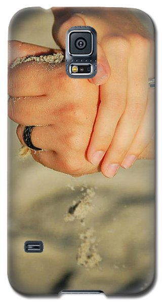 Galaxy S5 Case featuring the photograph Hands Of Time by Leticia Latocki