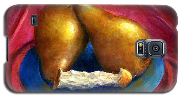 Hand Painted Art Fruit Still Life Pears Galaxy S5 Case