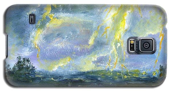 Hand Painted Art Louisiana Storm Galaxy S5 Case