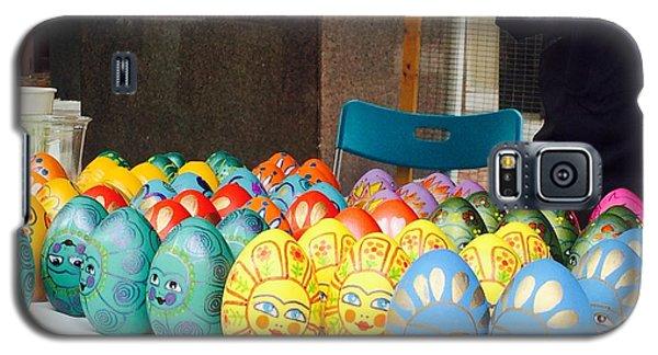 Hand Painted Eggs- 2014 Galaxy S5 Case by Shirin Shahram Badie