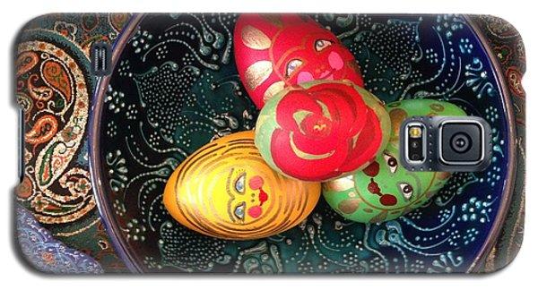 Hand Painted Eggs- Arezoo Galaxy S5 Case by Shirin Shahram Badie