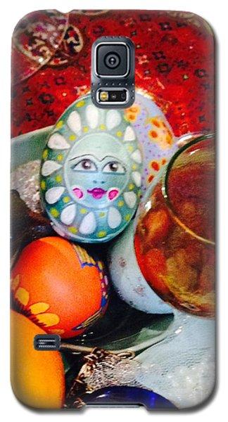 Hand Painted Eggs- Azadeh Galaxy S5 Case by Shirin Shahram Badie