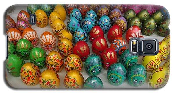 Hand Painted Eggs Galaxy S5 Case by Shirin Shahram Badie
