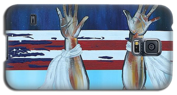 Hands Up Dont Shoot Galaxy S5 Case