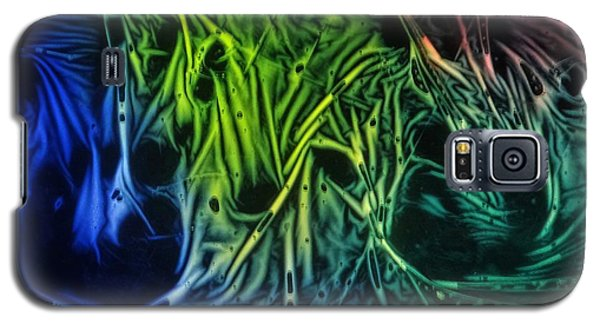 chemiluminescence photography Handprint Galaxy S5 Case