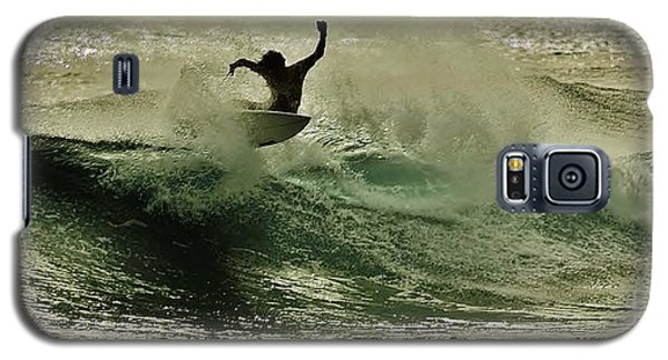 Galaxy S5 Case featuring the photograph Hang Ten by Craig Wood