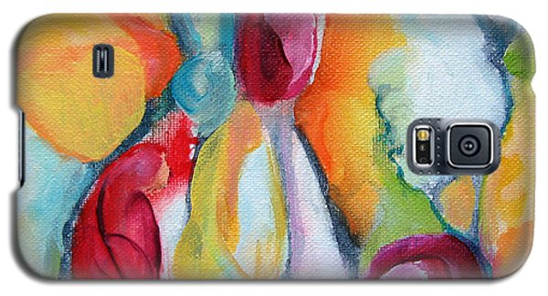 Galaxy S5 Case featuring the painting Hanging Garden 102 by Elis Cooke