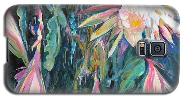 Hanging Garden Floral Galaxy S5 Case by John Fish
