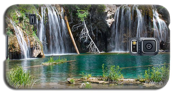 Galaxy S5 Case featuring the photograph Hanging Lake - Colorado by Aaron Spong