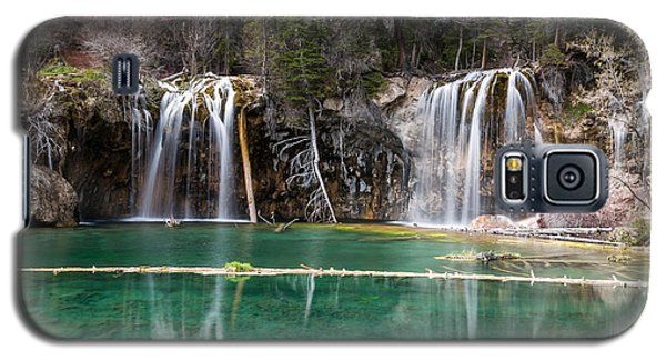 Galaxy S5 Case featuring the photograph Hanging Lake by Jay Stockhaus