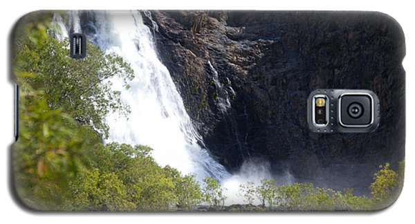 Galaxy S5 Case featuring the photograph Hanging Valley Waterfall by Carole Hinding