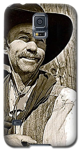 Hank Worden Publicity Photo Red River 1948-2013 Galaxy S5 Case