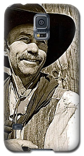 Hank Worden Publicity Photo Red River 1948-2013 Galaxy S5 Case by David Lee Guss